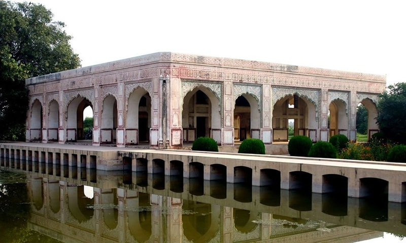 The river Ravi has run dry in Lahore but this monument stands as a reminder of its Mughal past