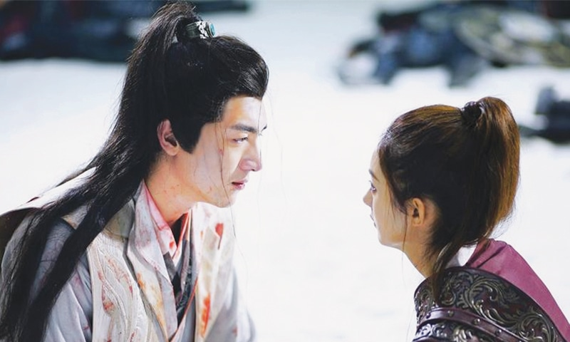 A SCENE from the Chinese drama series Princess Agents, which set a record for YouTube views at nearly three billion.—China Daily