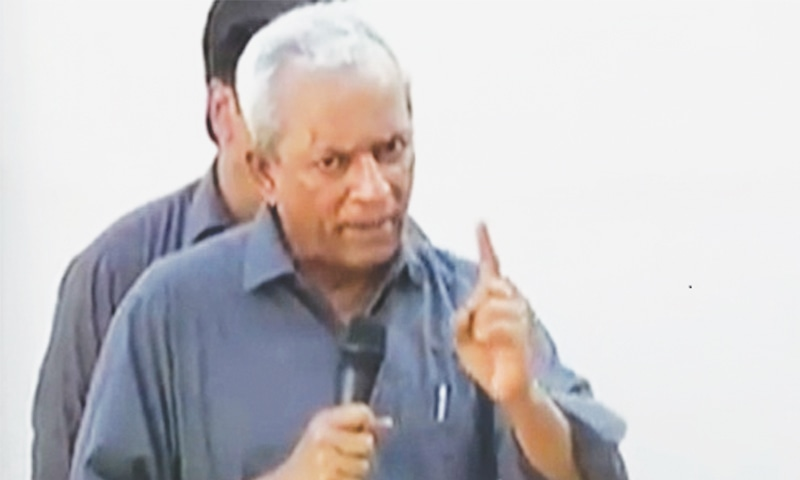 NEHAL Hashmi was shifted to the jail hospital after he informed the authorities he is a heart patient.
