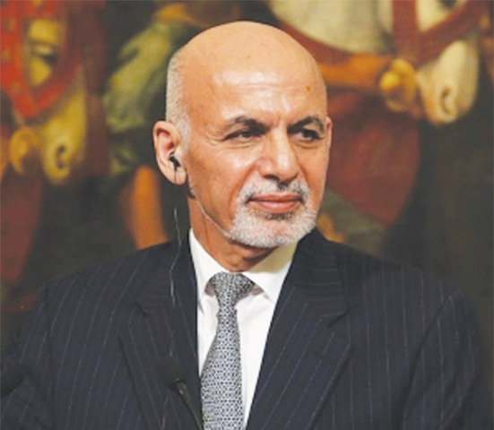 AFGHAN President Ashraf Ghani says Pakistan has been given lists of elements behind recent attacks.