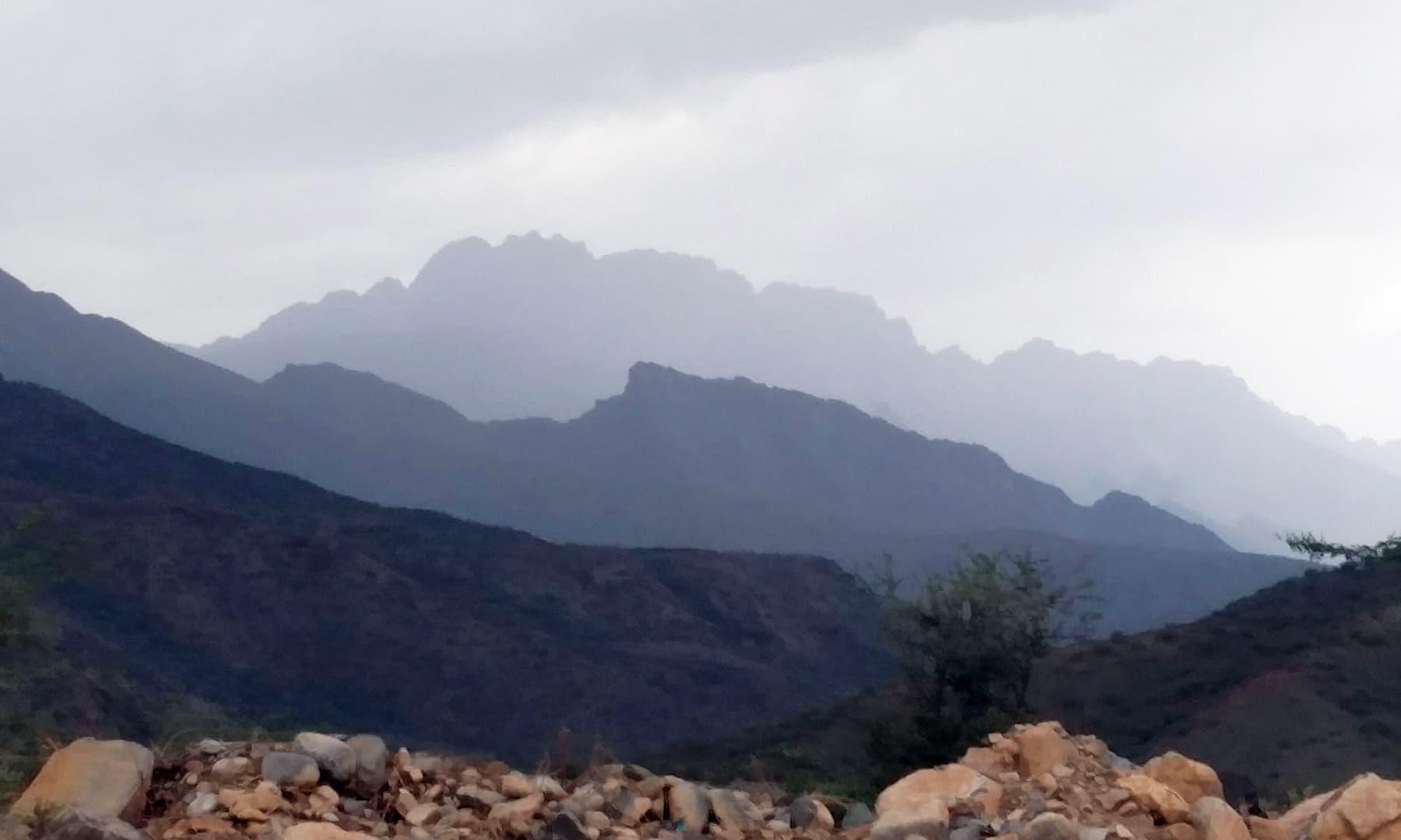 کوہِ سلیمان—تصویر عبداللہ کیہر