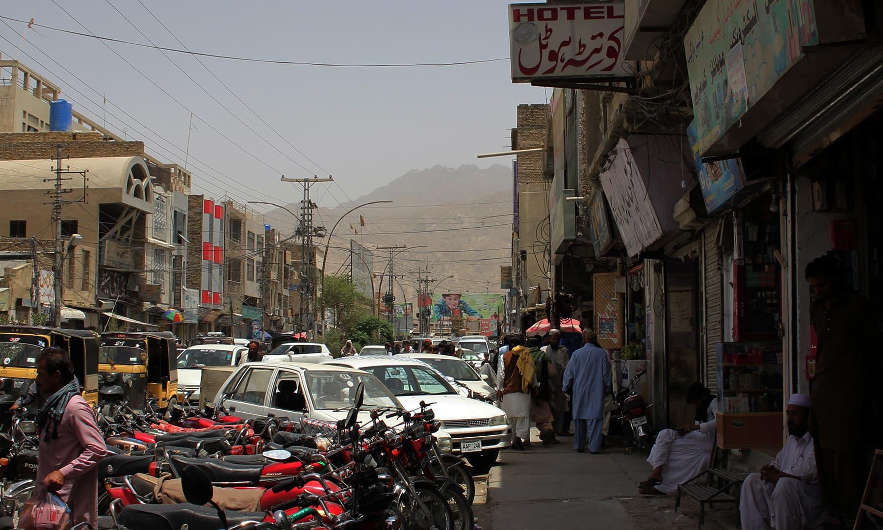 شہر کوئٹہ—تصویر عبیداللہ کیہر