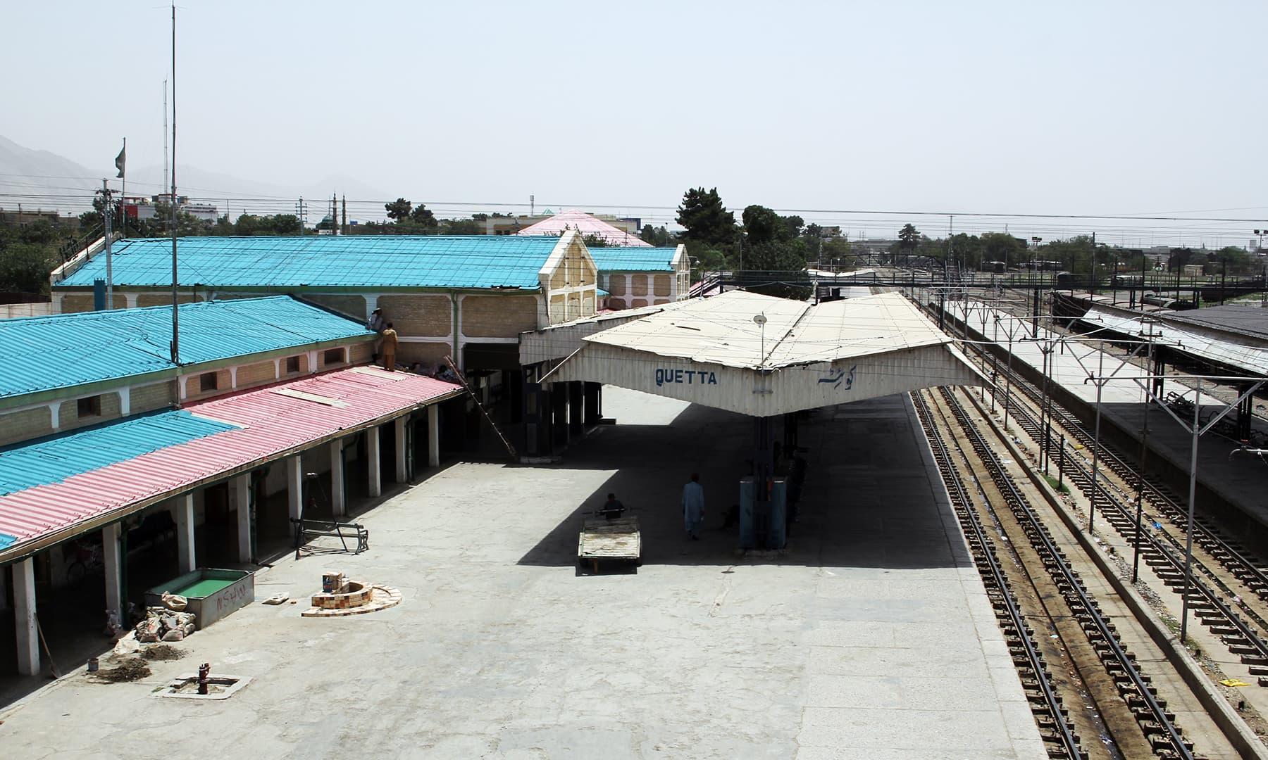 کوئٹہ ریلوے اسٹیشن—تصویر عبیداللہ کیہر