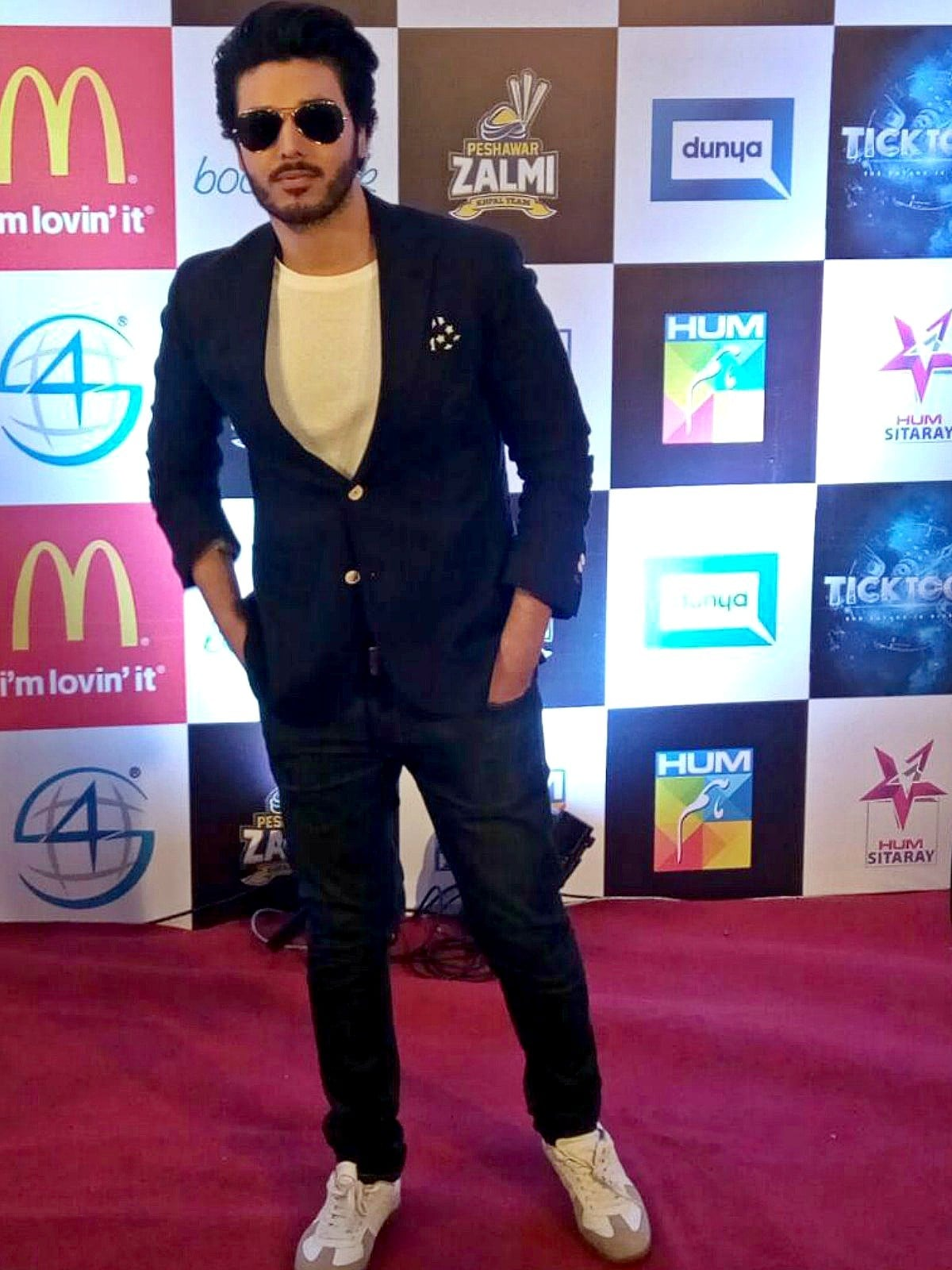 Ahsan Khan at the trailer launch of his latest project, the children's animated movie Tick Tock