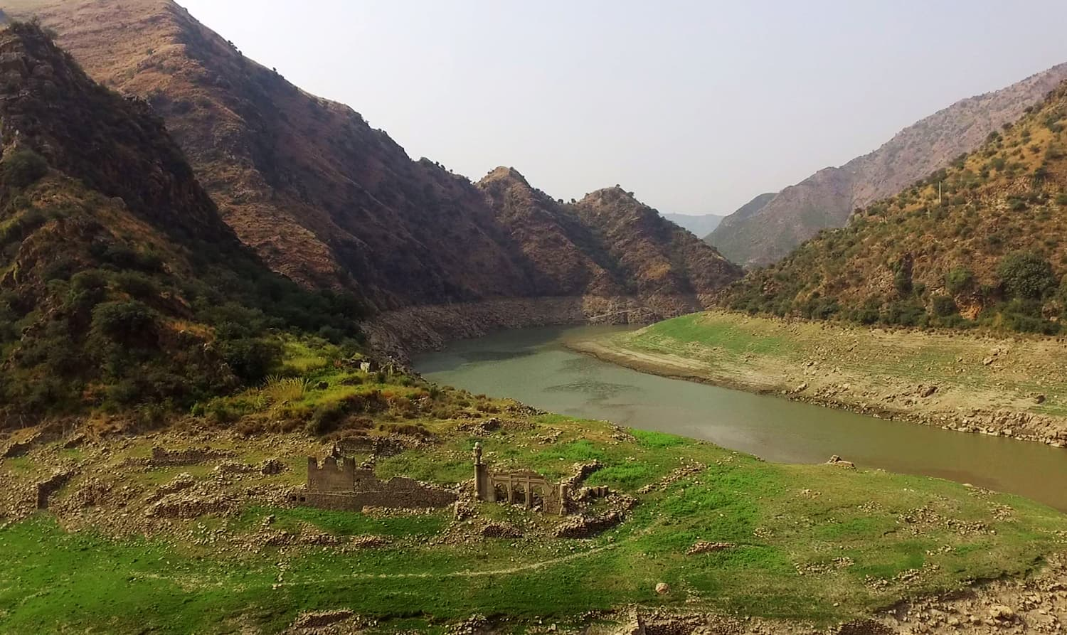 The last remnants of a community that was displaced by the Tarbela dam.—Jahandad Khan