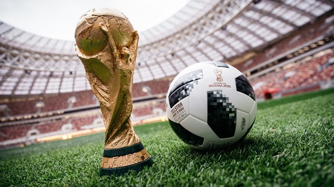 The Official Match Ball To Be Used At The  Fifa World Cup Photo