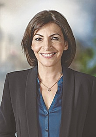 MAYOR of Paris Anne Hidalgo