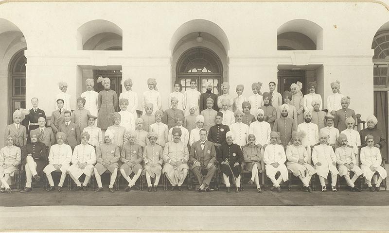 1941ء کی چمبر آف پرنسز کی ایک تصویر۔
