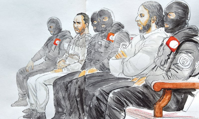 Suspect in 2015 Paris attacks refuses to answer court