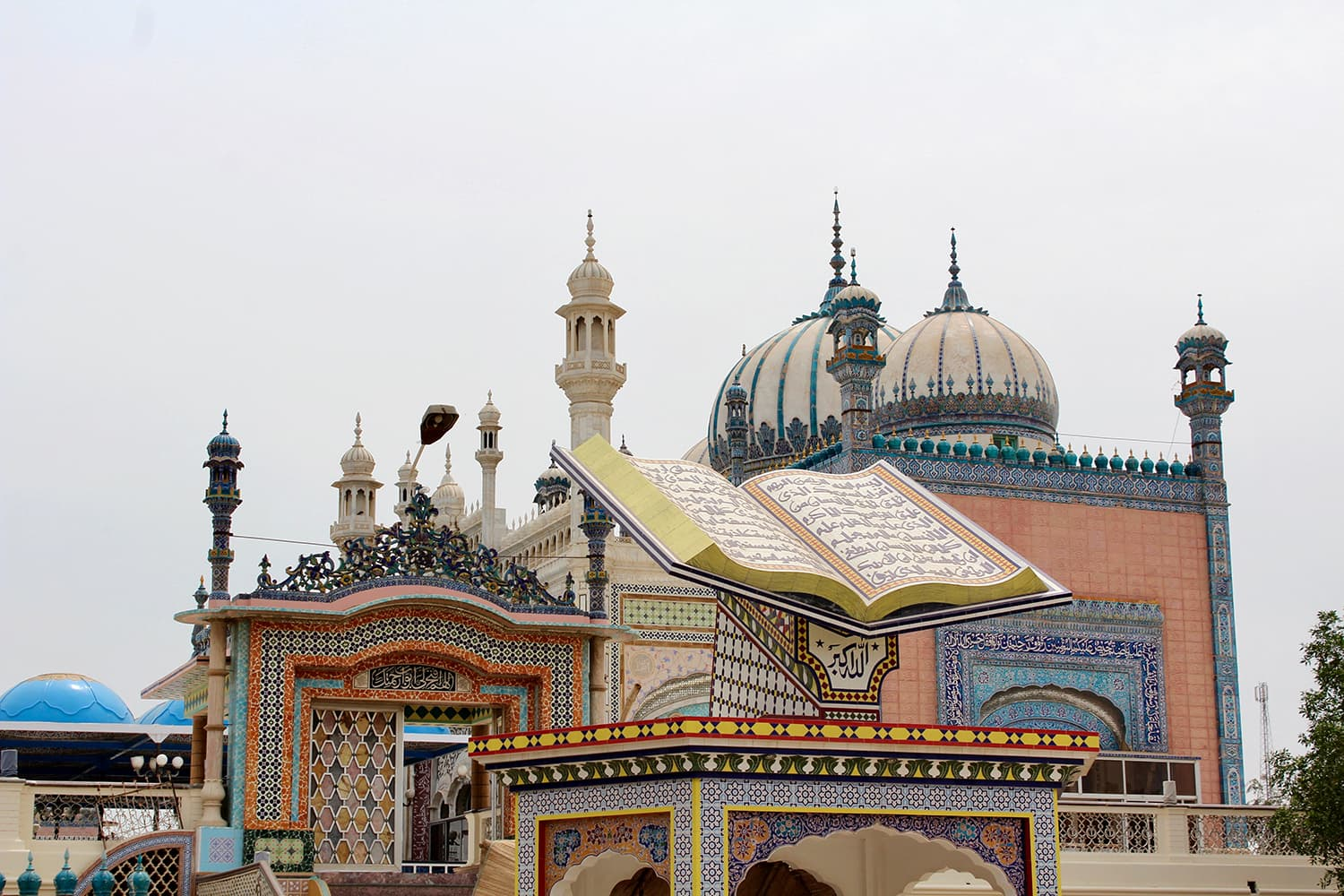 An architectural marvel, the Bhong Mosque is the most visually stunning place I have visited in Pakistan
