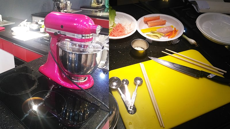 Can we take this pink mixer home, please?