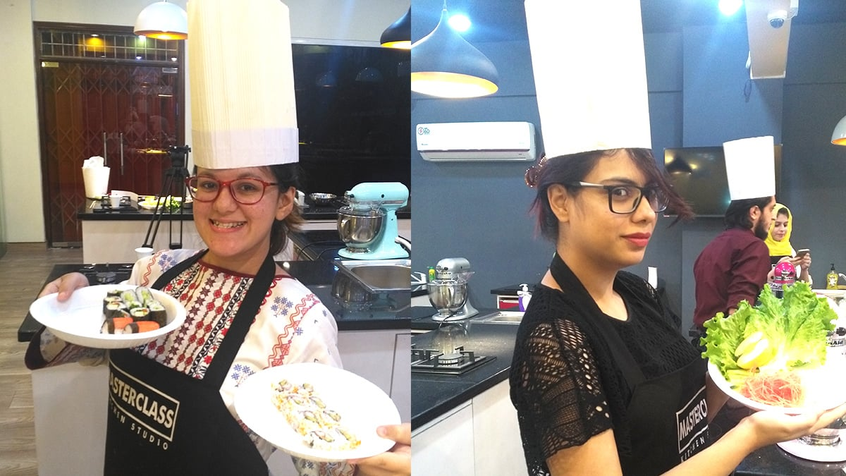I took a sushi class in Karachi and now I know what it feels like to be on MasterChef