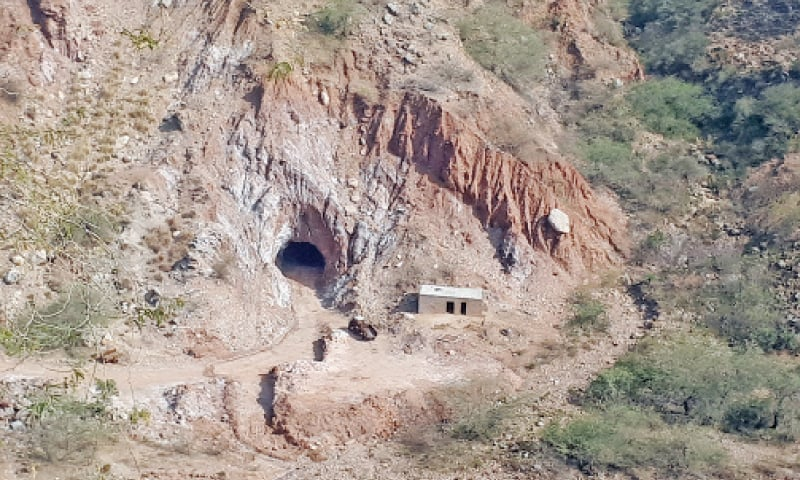 The forgotten salt mines of Kallar Kahar