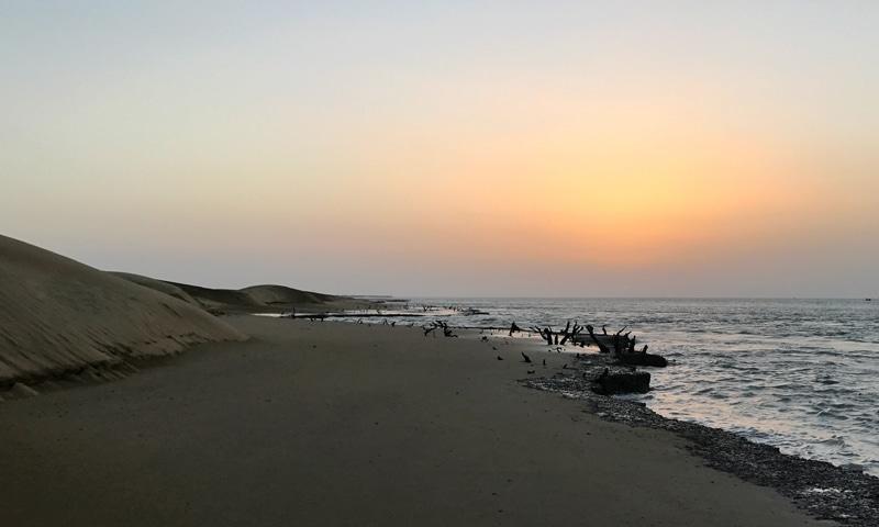 The sun, the sand and the sea | Zahid Younus