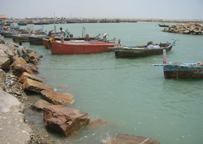 Boats in dock waiting to go out for the next catch | Ali Waseem