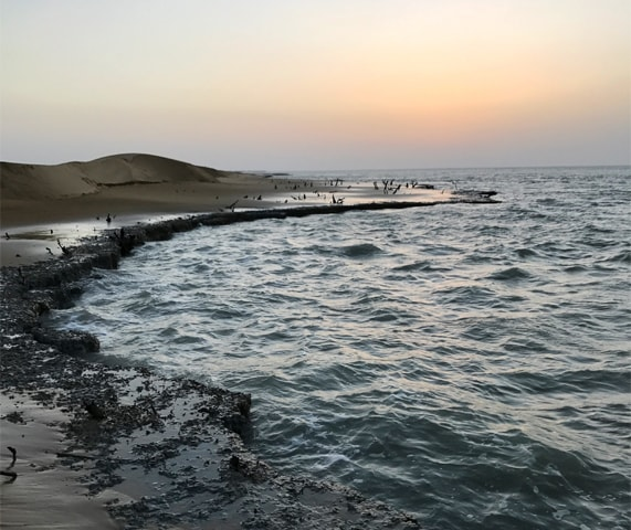 Damb faces incessant coastal erosion | Zahid Younus