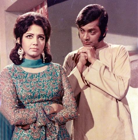 Zeba and Waheed Murad in Phool Mere Gulshan Ka