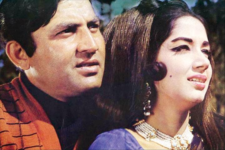 Muhammad Ali and Zeba in Mohabbat Ho To Aisi Ho - Photo courtesy: Guddu Film Archive