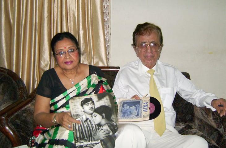 Shabnam and Robin Ghosh