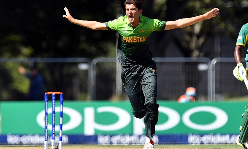 Shaheen Afridi in action — Twitter