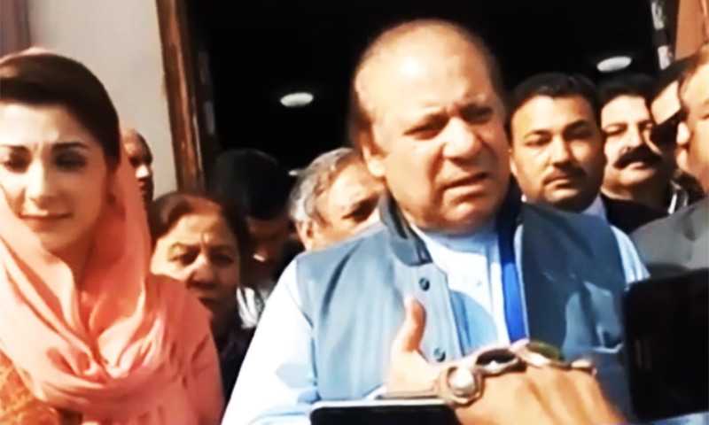 Any difference between language used by Imran Khan and the chief justice?: Nawaz
