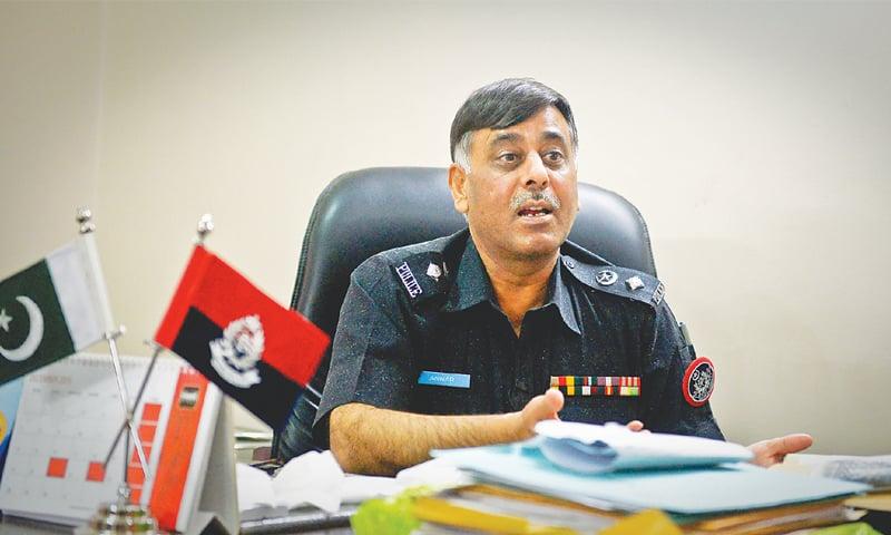 FORMER Malir SSP Rao Anwar. —Fahim Siddiqi / White Star