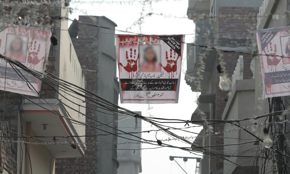 Tracing the footsteps of Zainab's predator