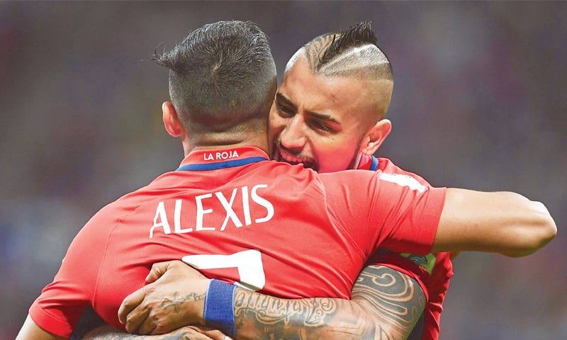 Alexis Sanchez and Arturo Vidal will be sorely missed at the World Cup