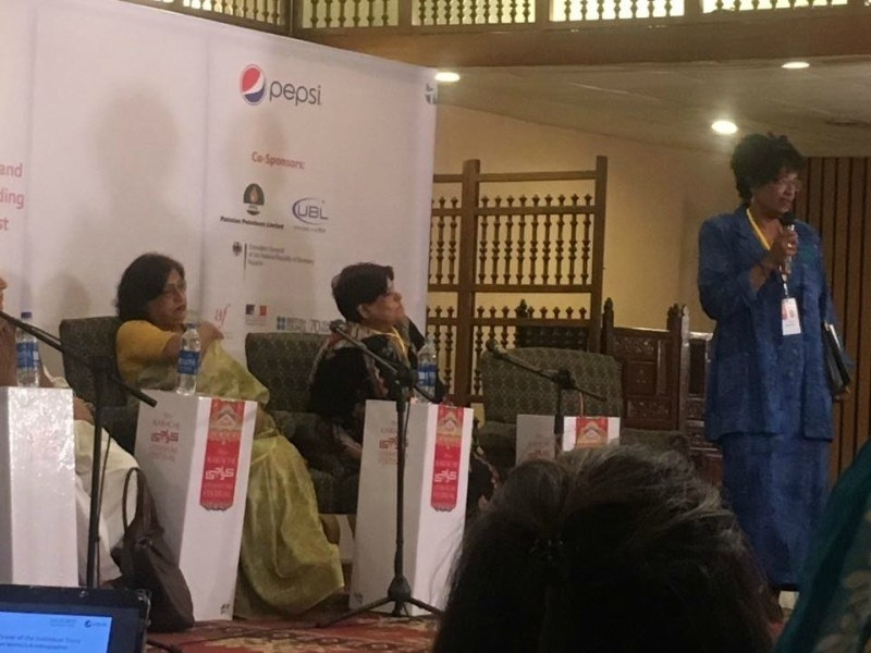A session on women's autobiographies was delightful