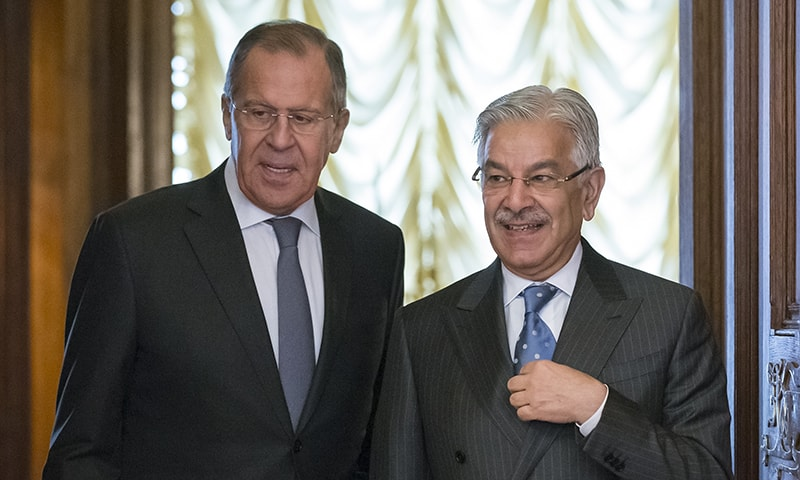 Russia will continue to boost Pakistan's counterterrorism capacity, says FM Lavrov