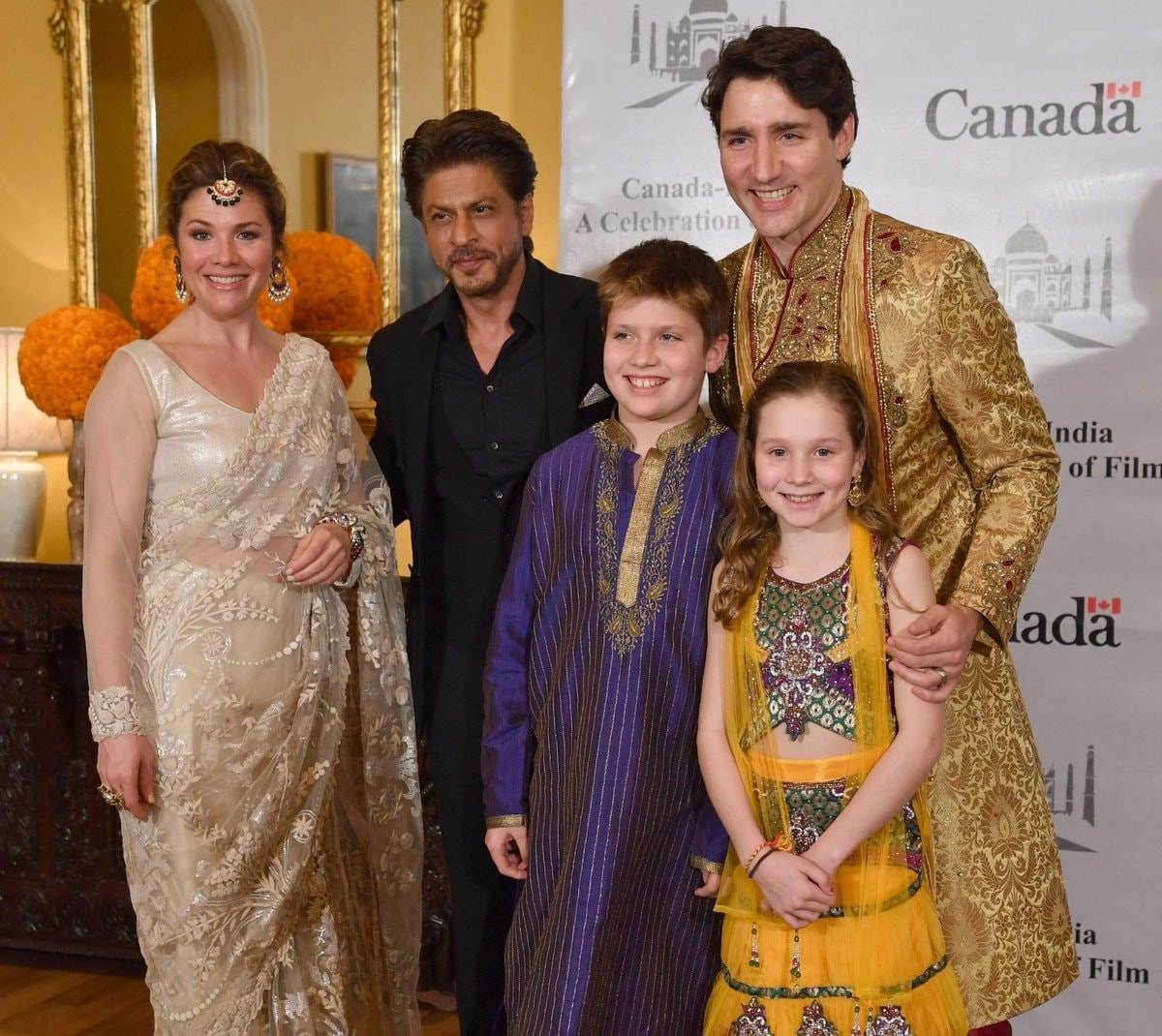 Justin trudeau parties with bolly celebs during his india trip the canadian prime minister met with many bolly celebs and businessmen at a meet and greet in mumbai and we have to say the trudeau family definitely kristyandbryce Choice Image