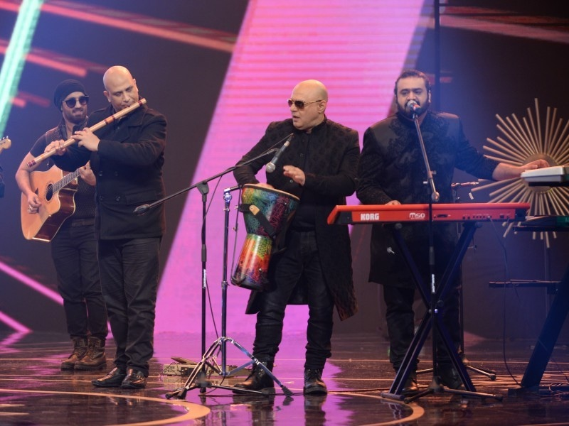 Ali Azmat brought the house down with his power-packed performance