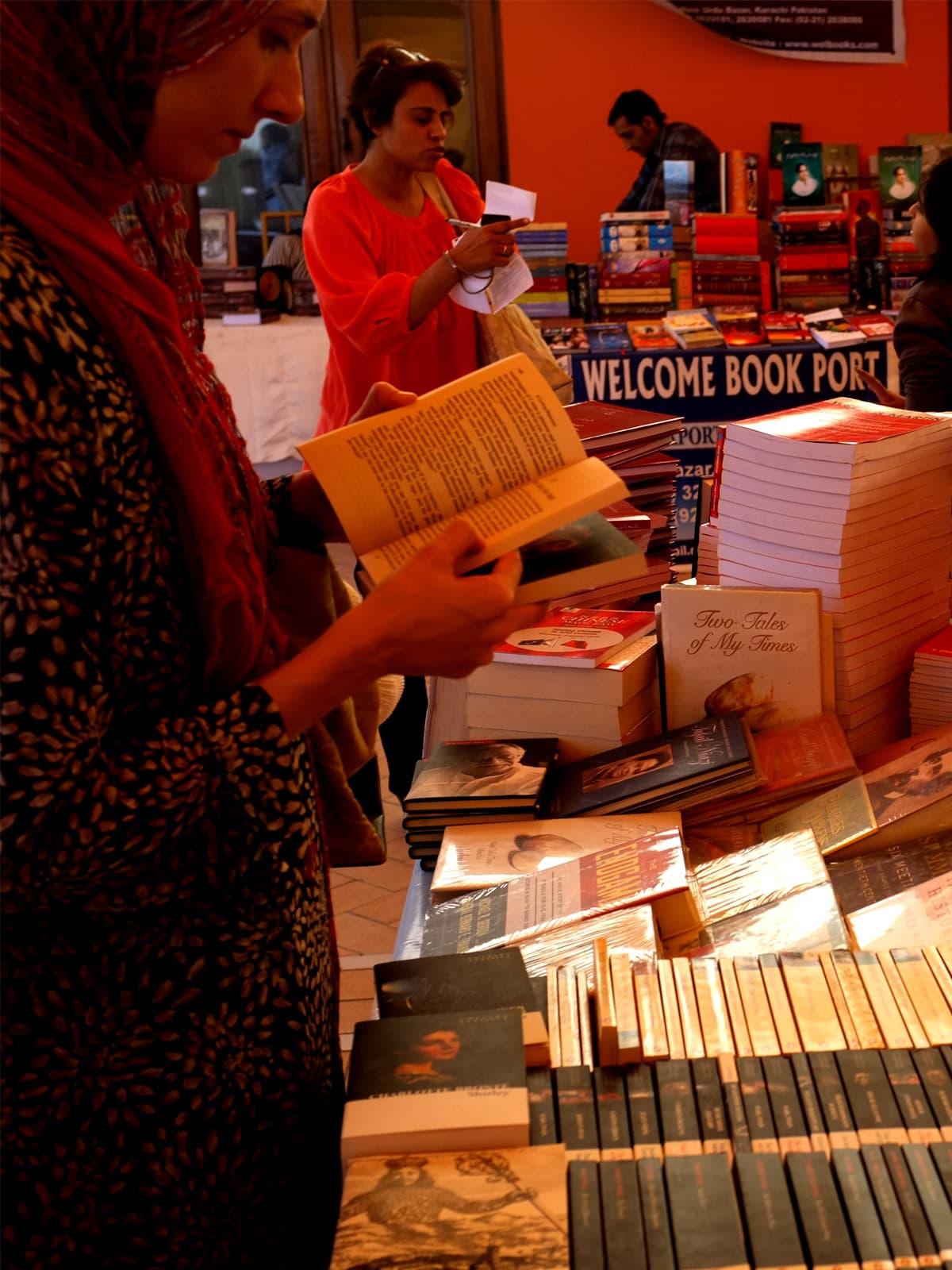 Karachi Literature Festival 2013  | Arif Mahmood, White Star