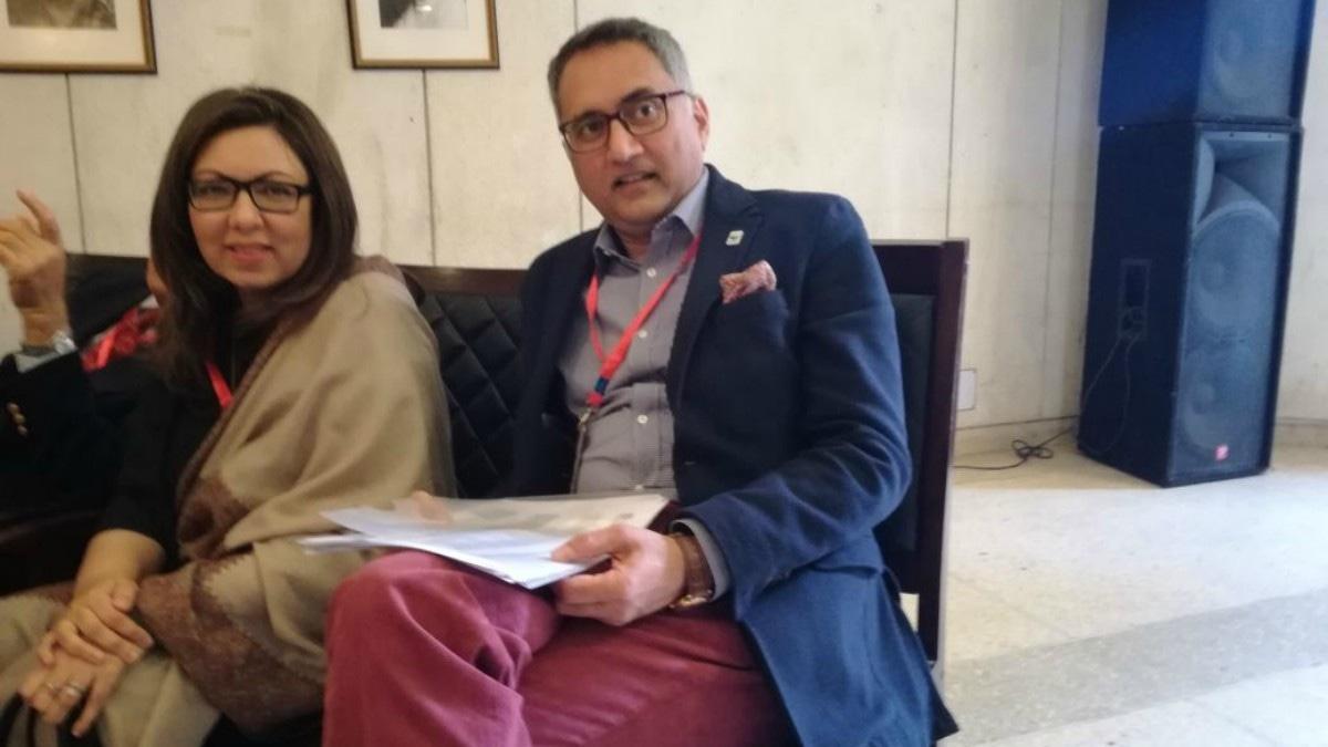 Rina Saeed and Hammad Naqi