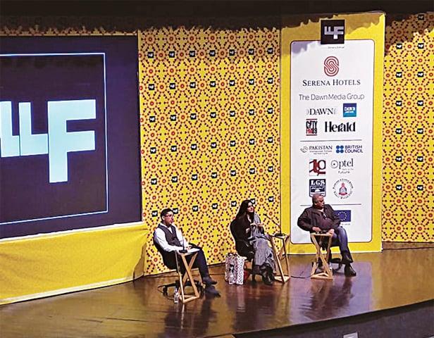 Adeel Hashmi, Nadia Jamil and Salman Shahid. — White Star