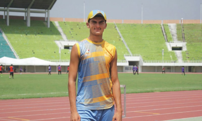 New talent to watch out for: Left-arm speedster from Khyber Agency Shaheen Shah Afridi (above) and Salman Irshad from Azad Kashmir (below)