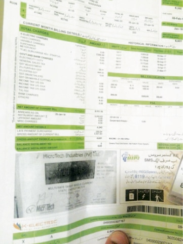 A typical residential electricity bill. Power tariffs are likely to remain steady in the months to come, while the emphasis will shift to recoveries.