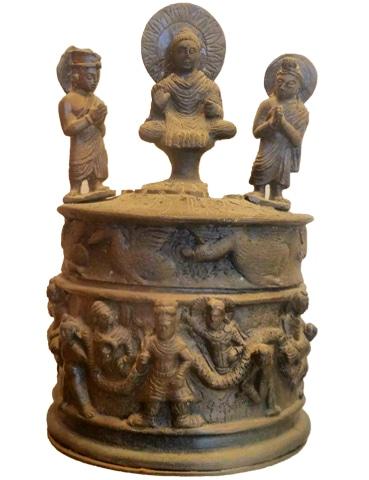 A first century AD Kushan dynasty relic found from Shahji-ki-Dehri, Peshawar