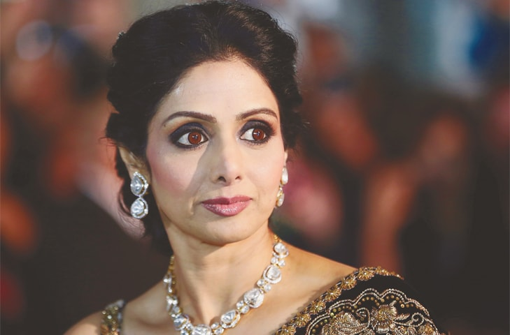 ACTRESS Sridevi Kapoor in this file picture taken on Sept 14, 2012.—Reuters
