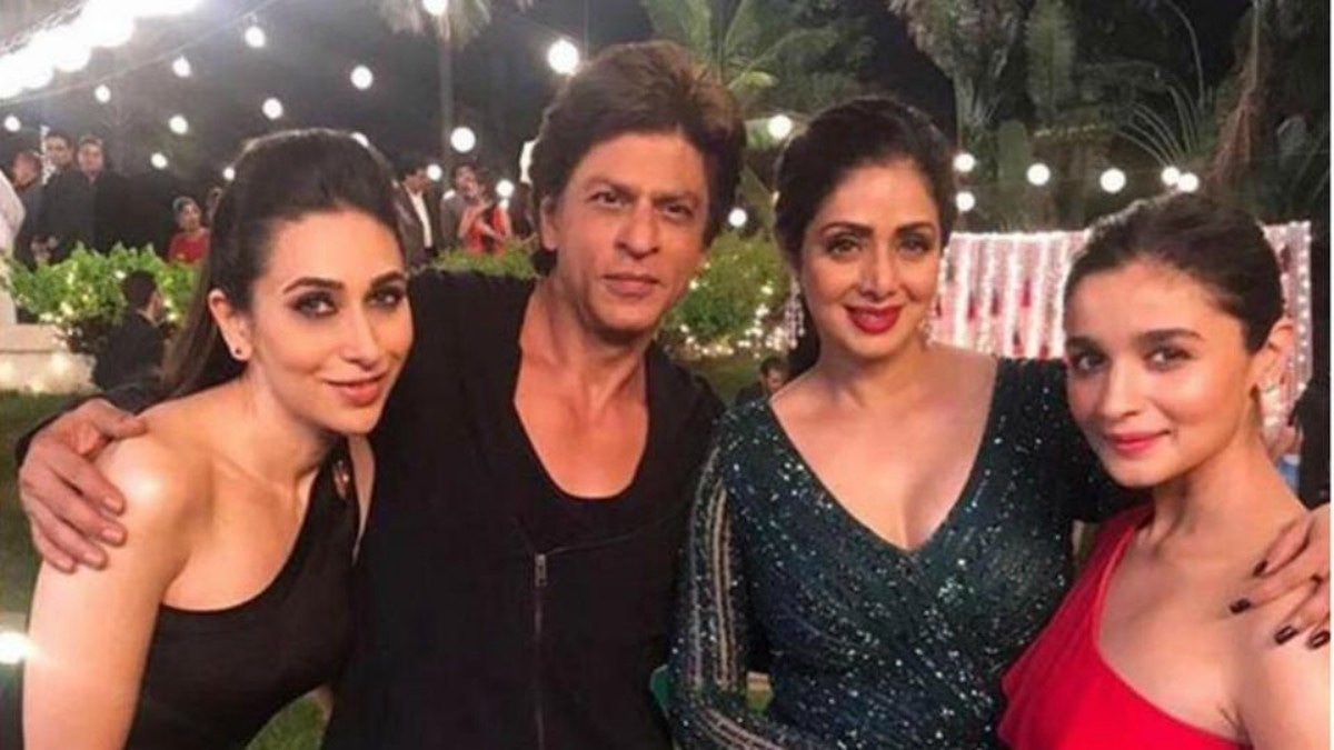 Sridevi will be seen with this gang in her final film performance in Shah Rukh Khan's Zero