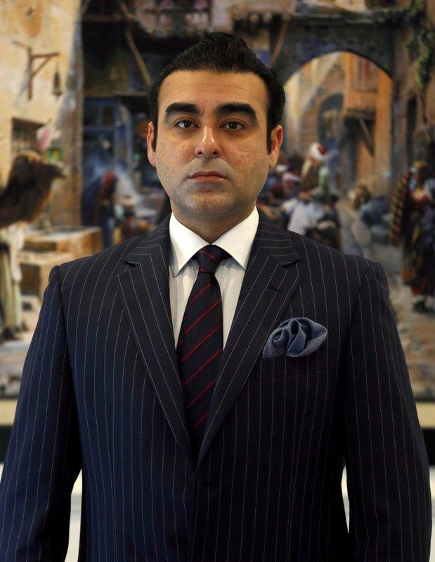 Russia's honorary consul, Mohammad Arsallah Khan, in Islamabad. ─ AP