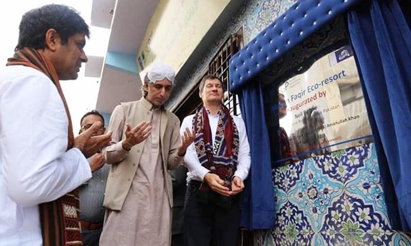 بھٹ شاہ میں مدن فقیر ریزورٹ کا افتتاح—تصویر شبینہ فراز