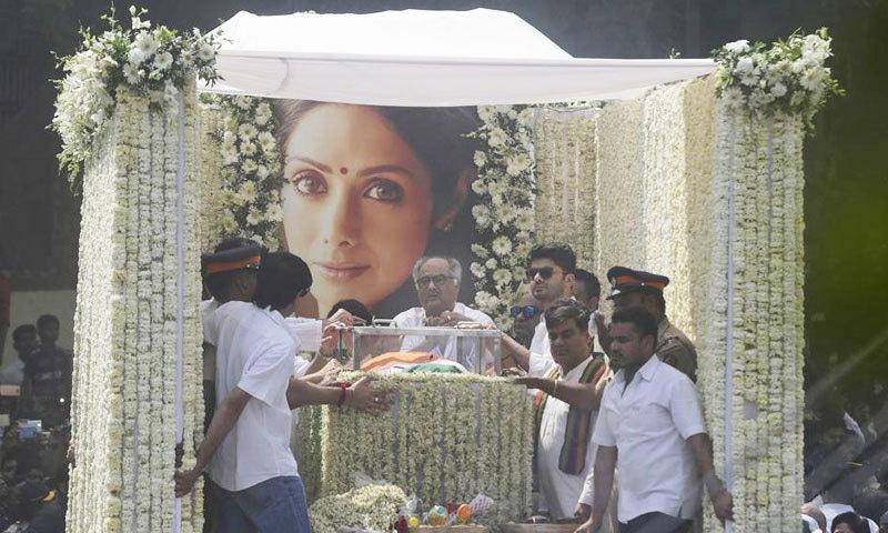 اداکارہ کی آخری رسومات 28 فروری کو ادا کی گئیں—فوٹو: اے پی