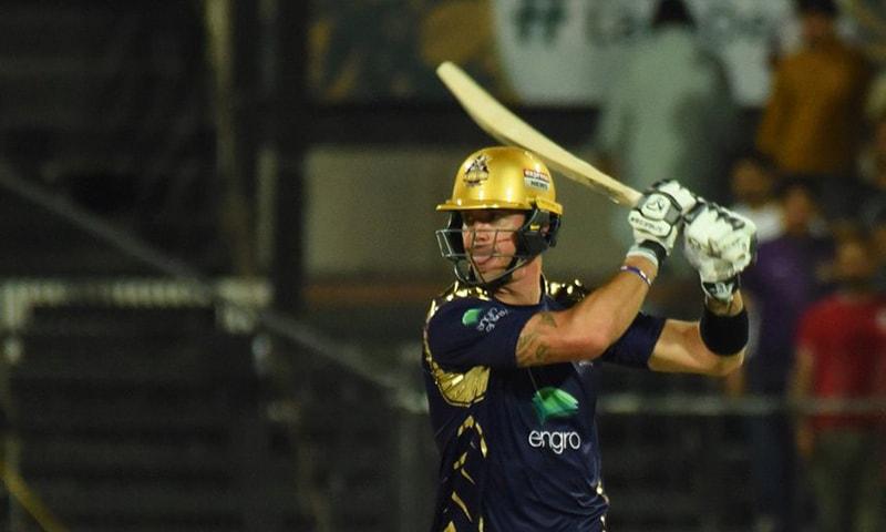 Pietersen stars in Quetta Gladiators' five-wicket win over Islamabad United