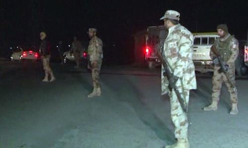Six security men martyred in Quetta attacks