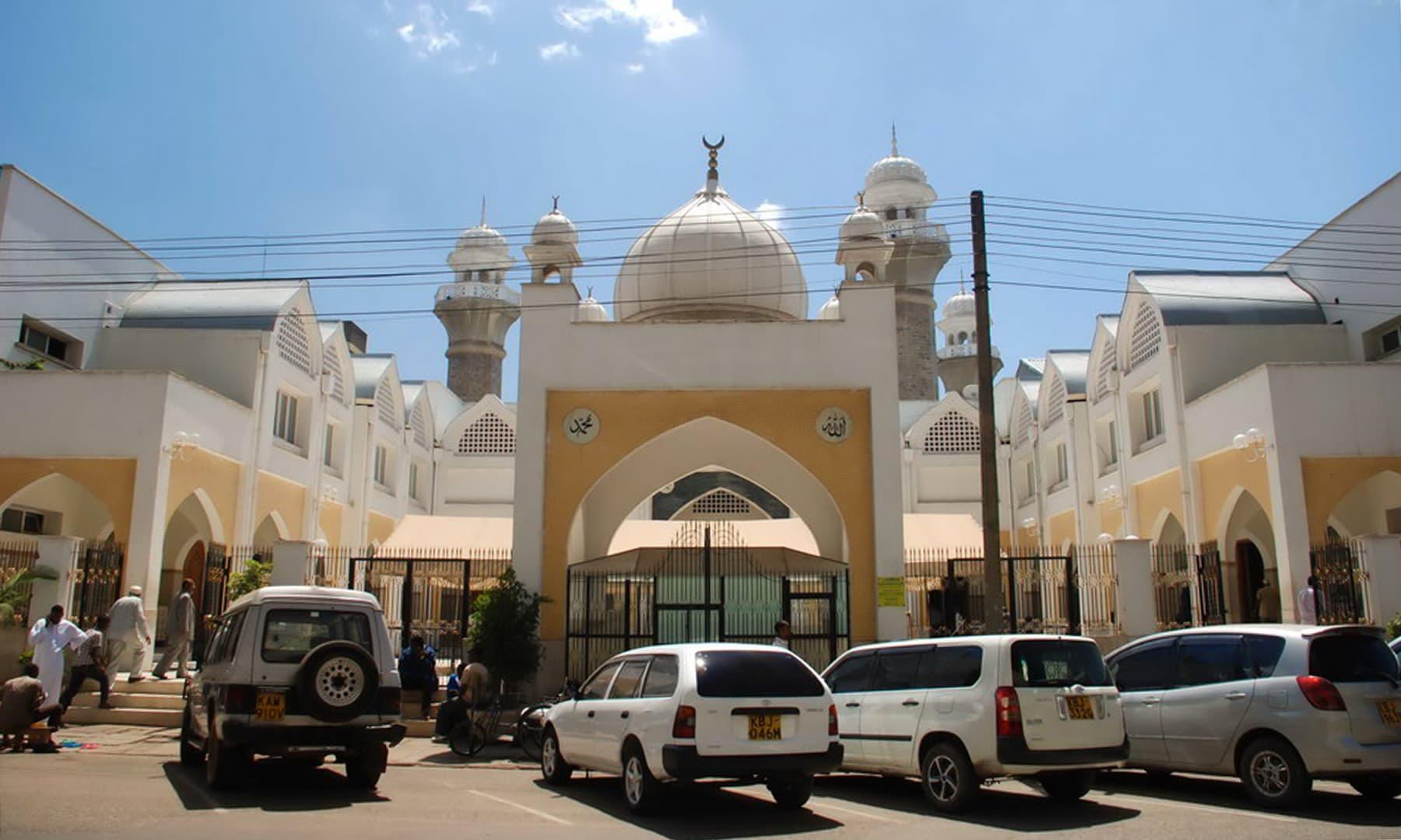 نیروبی کی ایک مسجد— فوٹو عظمت اکبر