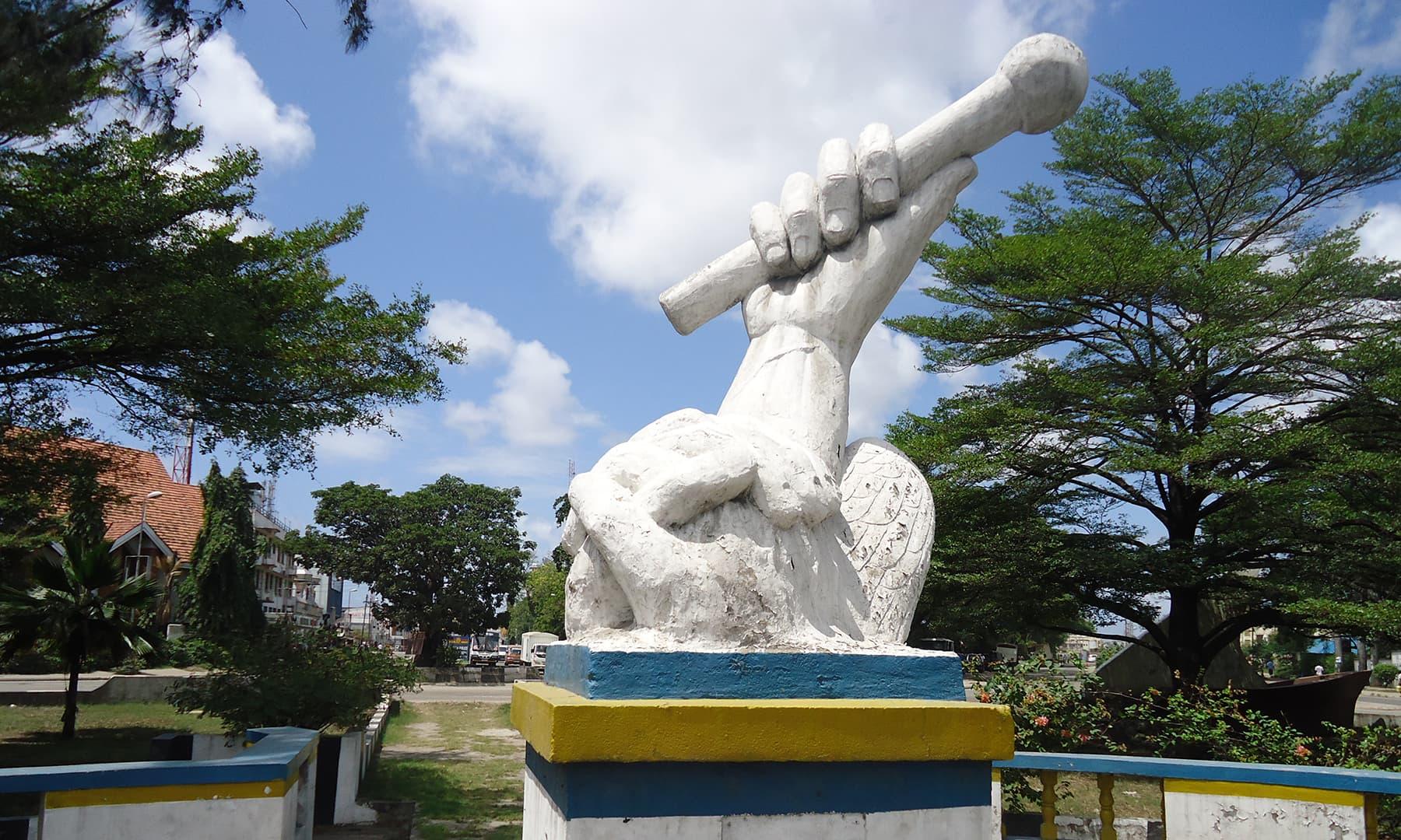 ممباسا کی معروف یادگار— فوٹو عظمت اکبر