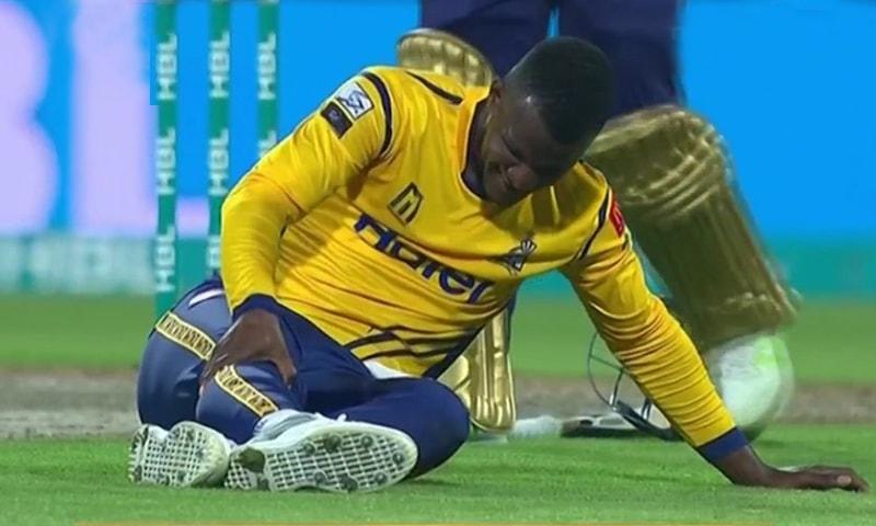 کپتان نے زخمی ہونے کے باوجود خود میدان میں اترنے کا فیصلہ کیا