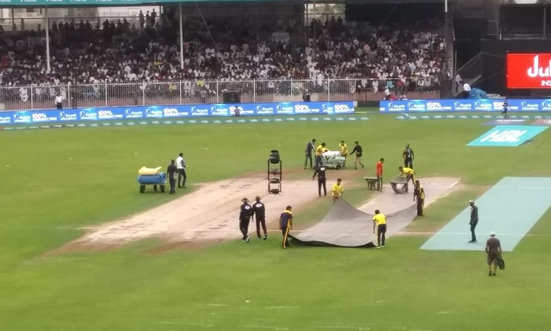Match called off due to  rain — PSL