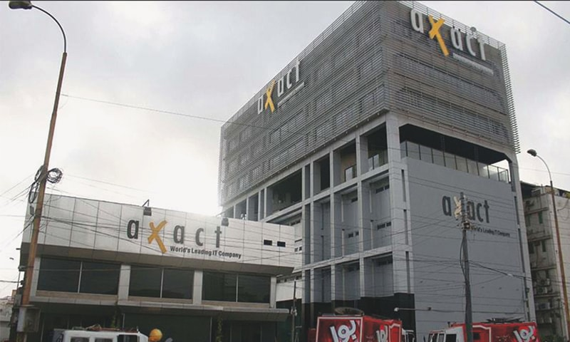 The offices of Axact in Karachi
